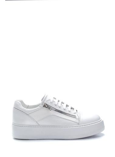 Derimod Erkek Ayakkabı(21018) Sneaker Beyaz